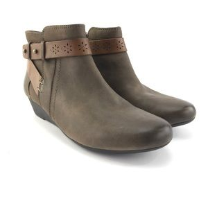 Rockport Cobb Hill Women's Joy Stone Ankle Boots